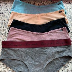 Five Pairs of Victoria Secret PINK Panties